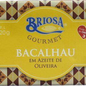 Bacalhau em Azeite 120g Briosa Gourmet foto_topo