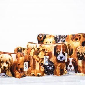 Bolsa T1#Focinhos de cães