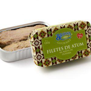 Filetes de Atum em Azeite 120g Briosa Gourmet